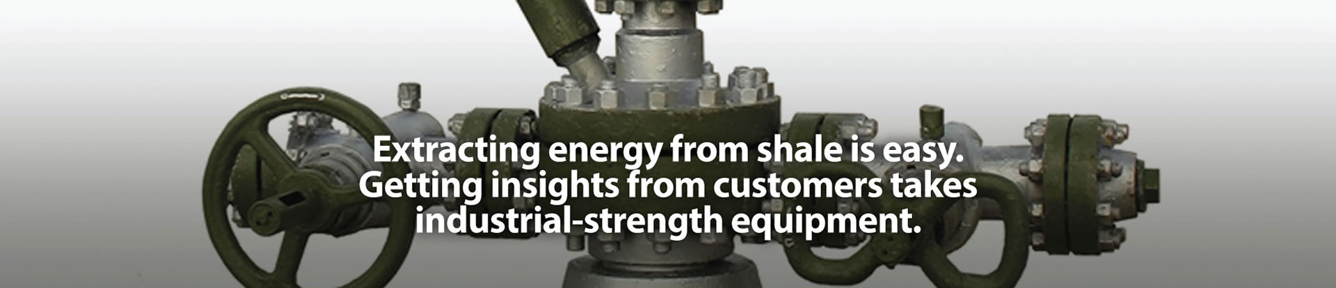 Extracting energy from shale is easy.
